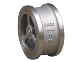 Wafer type lift check valve